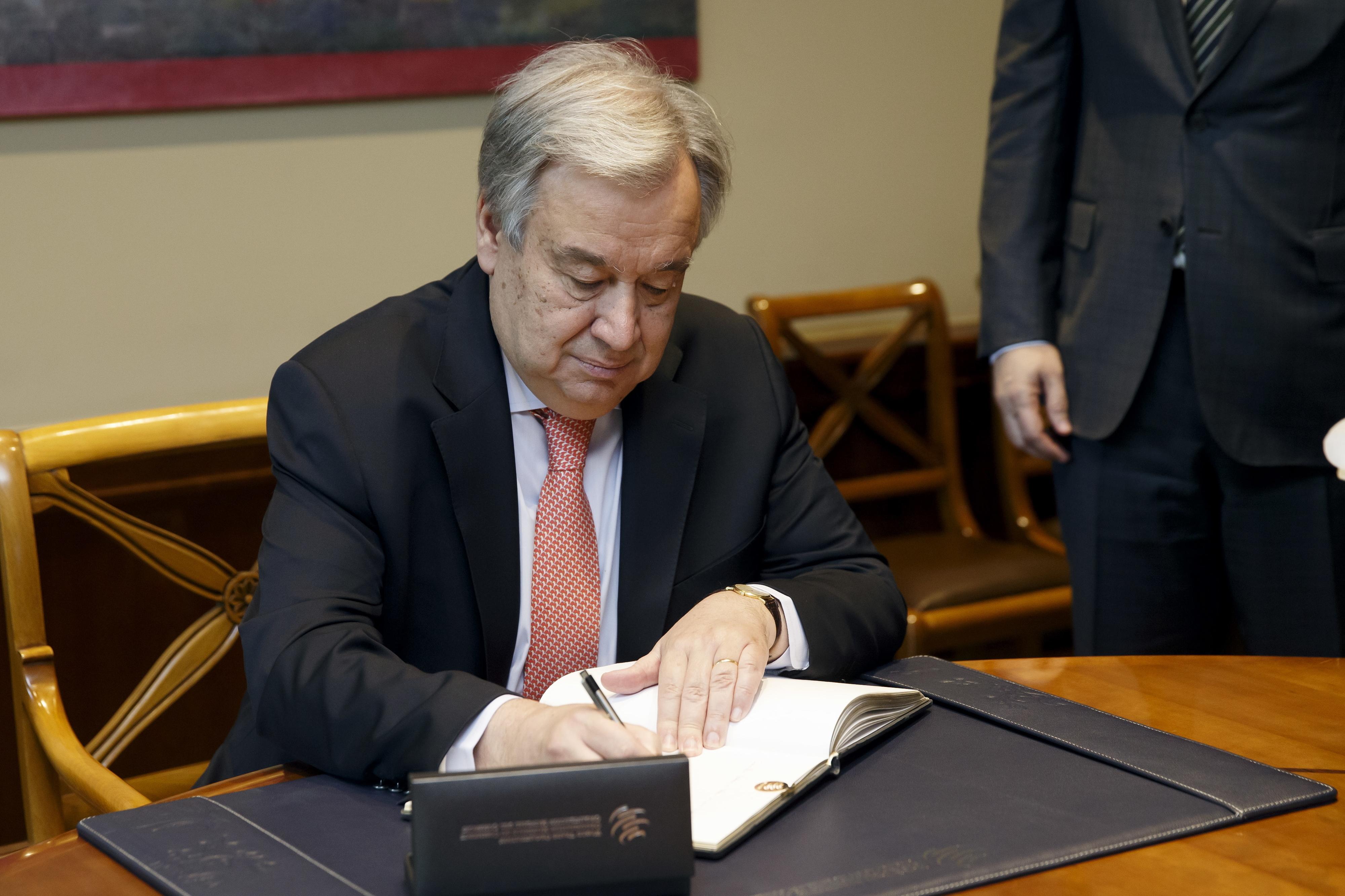 """António Guterres pede a Moscovo e Ancara que """"estabilizem situação"""" na Síria"""