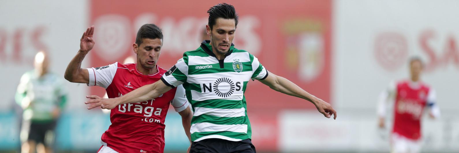 SC Braga 2-2 Sporting: Rui Fonte empata a partida