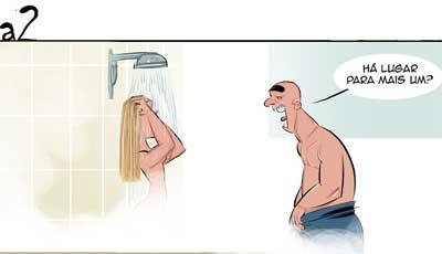 O banho