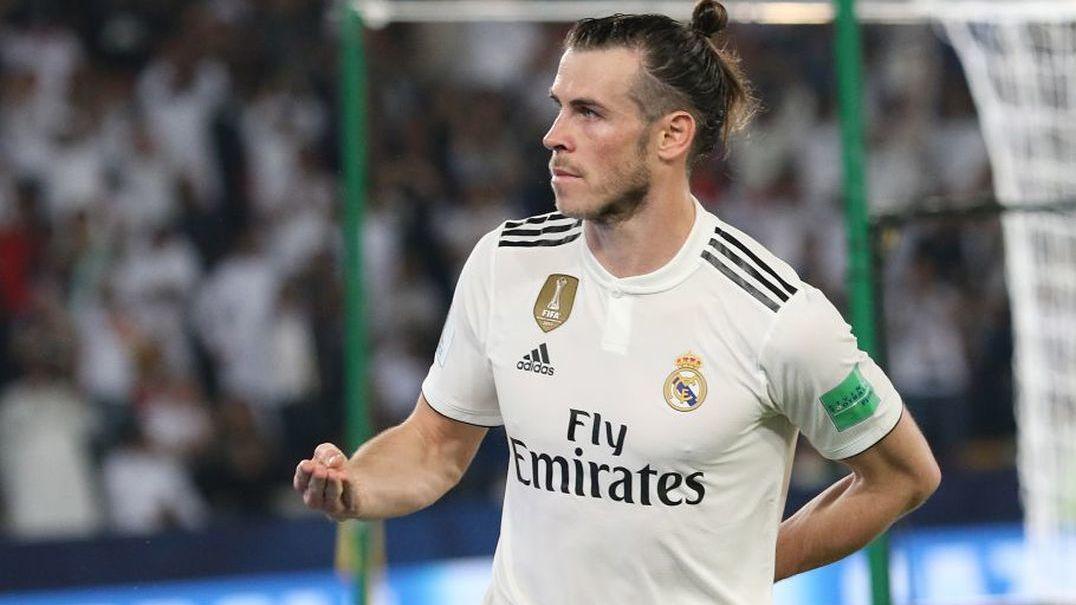 Bale até nos treinos pensa em jogar golf
