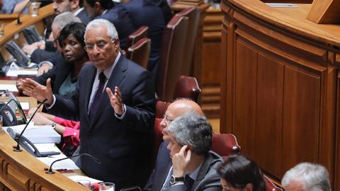 António Costa anuncia compra de novas antenas-satélite para o SIRESP