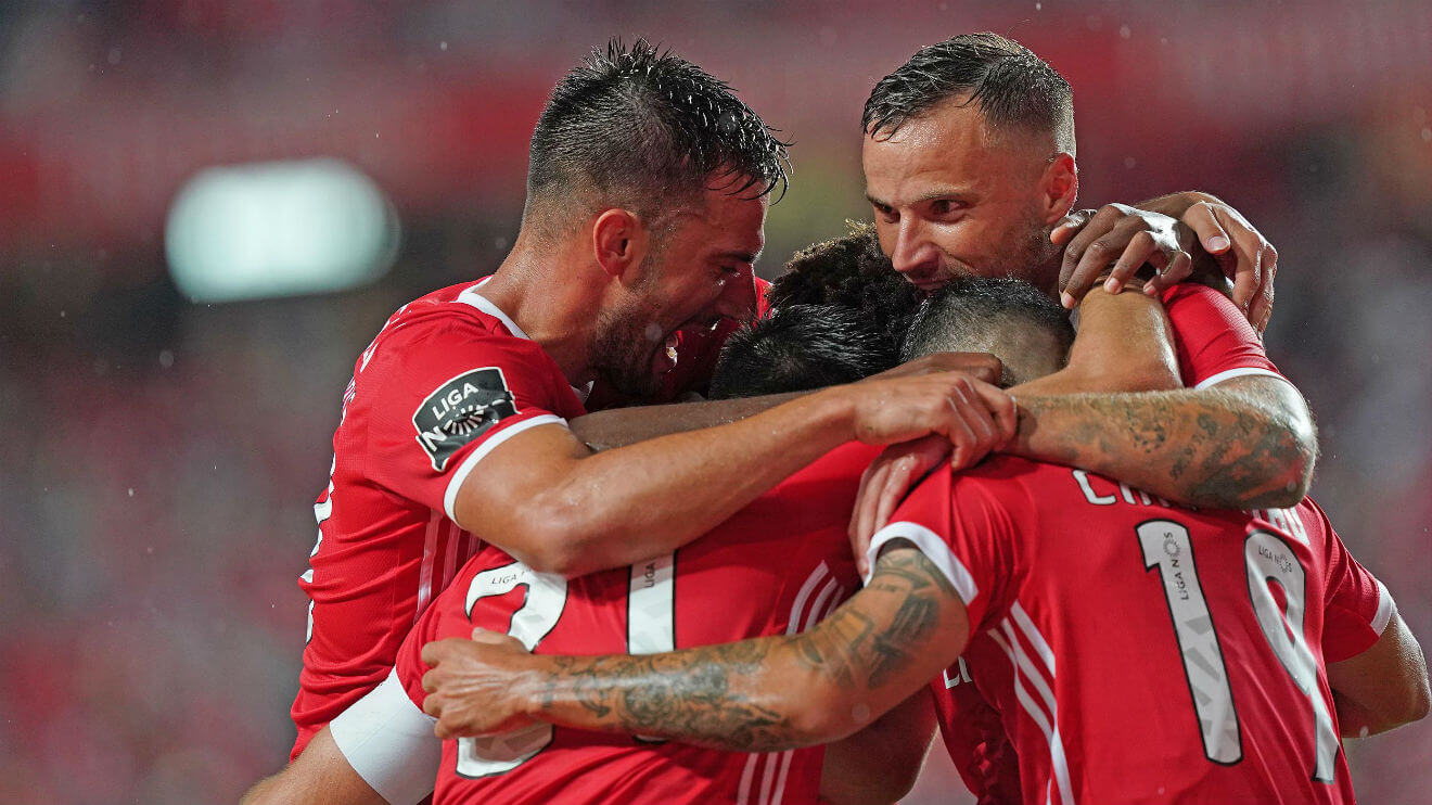 Os convocados do Benfica para a deslocação ao Bessa