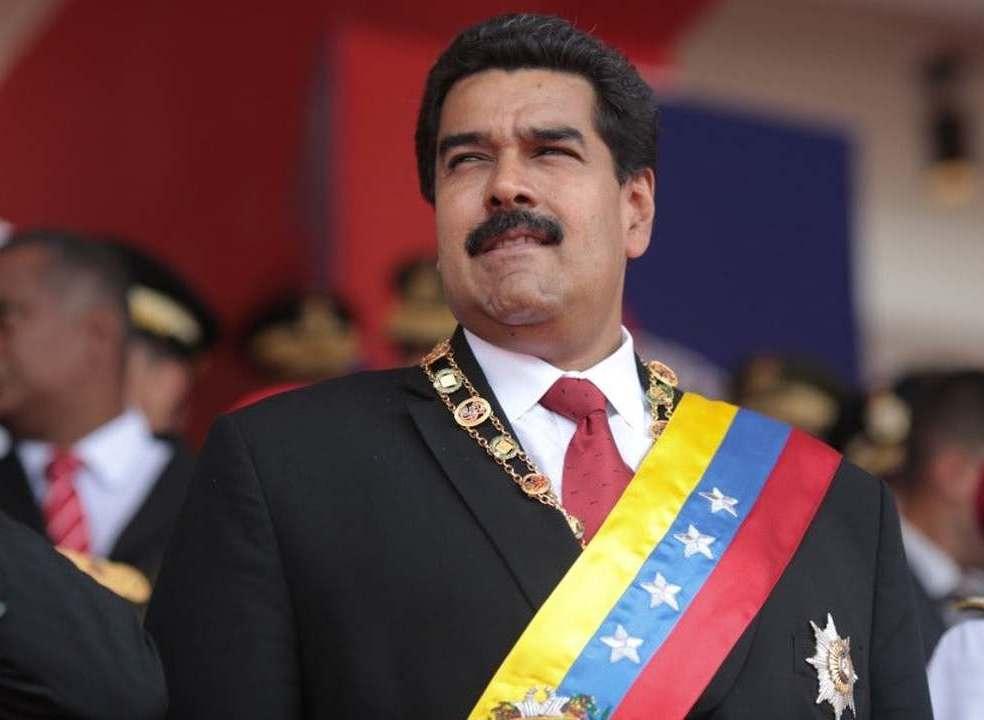 """""""Querem atacar-me, ataquem-me a mim"""". Maduro critica Departamento do Tesouro norte-americano"""