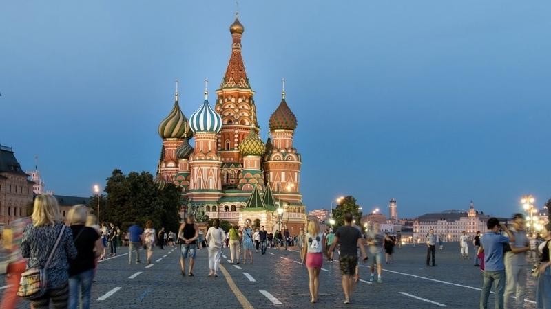 Moscovo, a imponente capital da Rússia