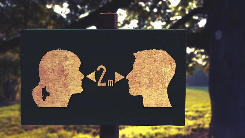 Não sabe como deve manter o distanciamento social? Esta app da Google dá uma ajuda