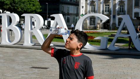 Fiquei encantada quando cheguei a Braga