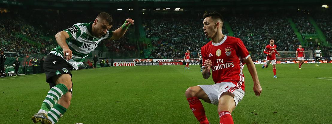 """Grimaldo: """"Sinto-me muito bem no Benfica"""""""