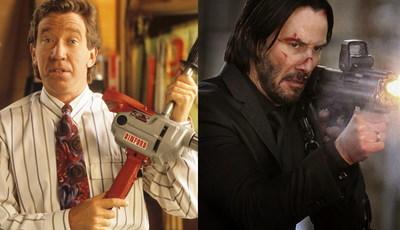 Tim Allen achava que conseguia matar John Wick, mas Keanu Reeves estragou-lhe o plano