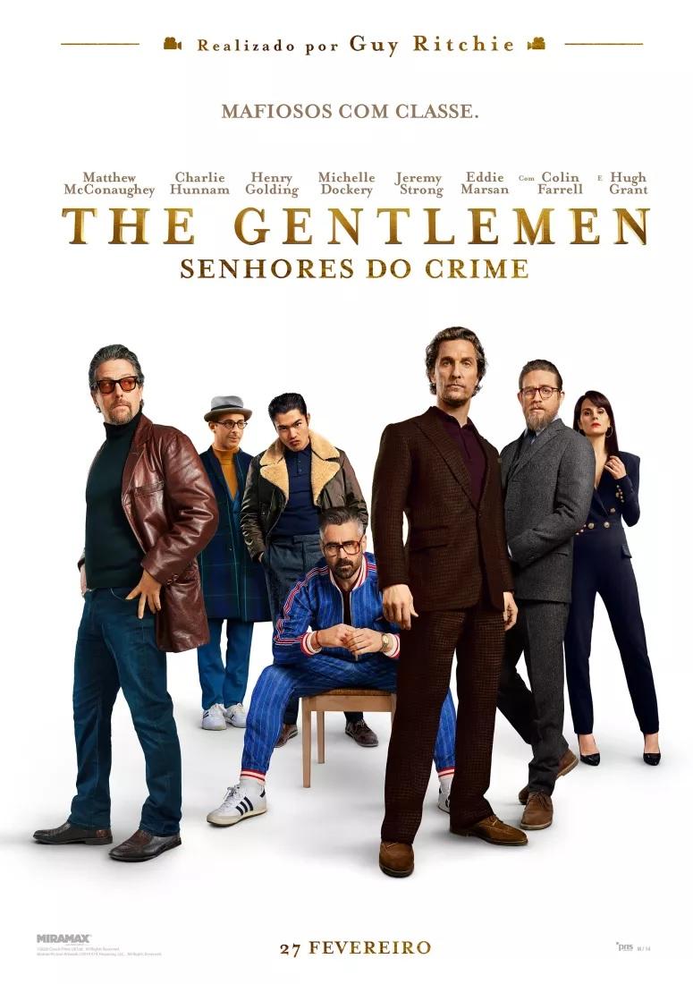 """""""The Gentlemen - Senhores do Crime"""": ganhe convites para as antestreias"""
