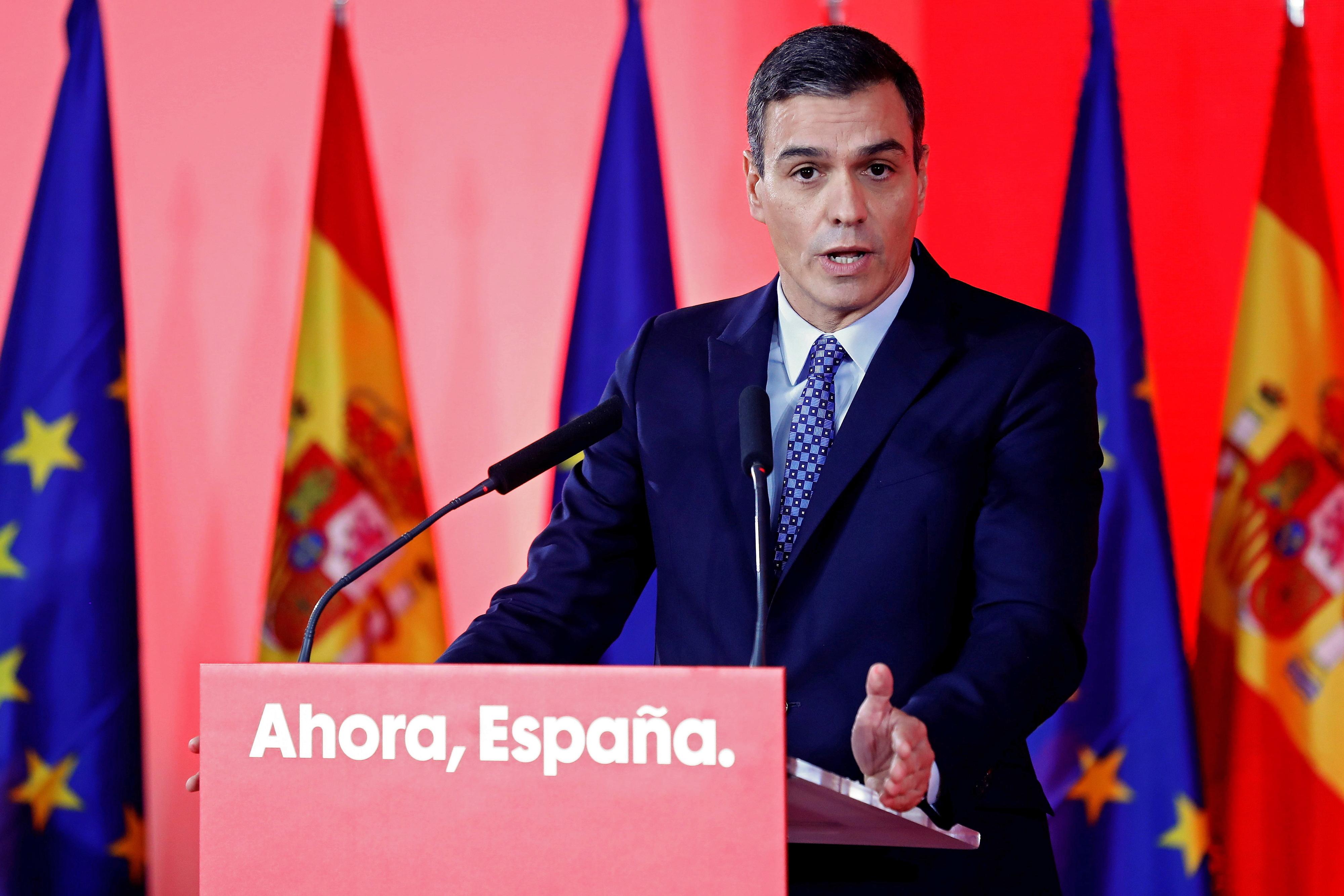 Sánchez diz que sentenças confirmam naufrágio do independentismo catalão