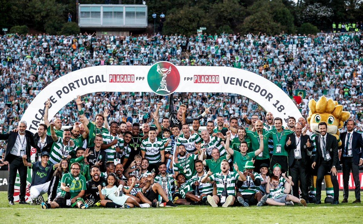 """Há um ano o Sporting conquistava a Taça de Portugal: Mathieu recordou """"momento muito especial e muito forte"""""""