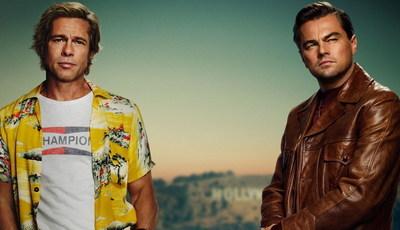 Photoshop a mais? Fãs não gostaram do cartaz do filme de Tarantino com Leonardo DiCaprio e Brad Pitt