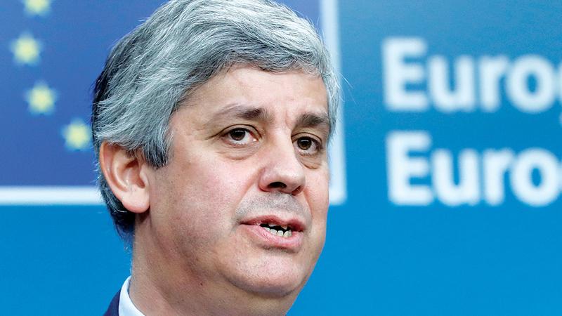 """""""Progressos em muitos assuntos delicados"""", disse Centeno sobre reforma da zona euro"""
