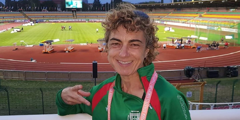 Maria Graça Fernandes conquista bronze nos Europeus paralímpicos de atletismo