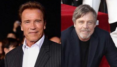 Arnold Schwarzenegger podia ter perdido carreira por culpa de Mark Hamill