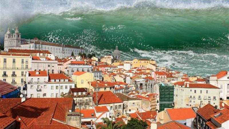 Lisboa e Cascais vão ter sistema de alerta contra tsunamis no Tejo