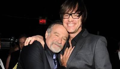 """""""Zanga amarga"""" com Robin Williams? Jim Carrey não sabia de nada"""