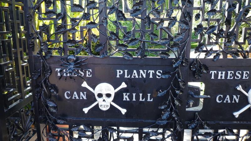 Estas plantas podem matar. Entre no jardim mais perigoso do mundo