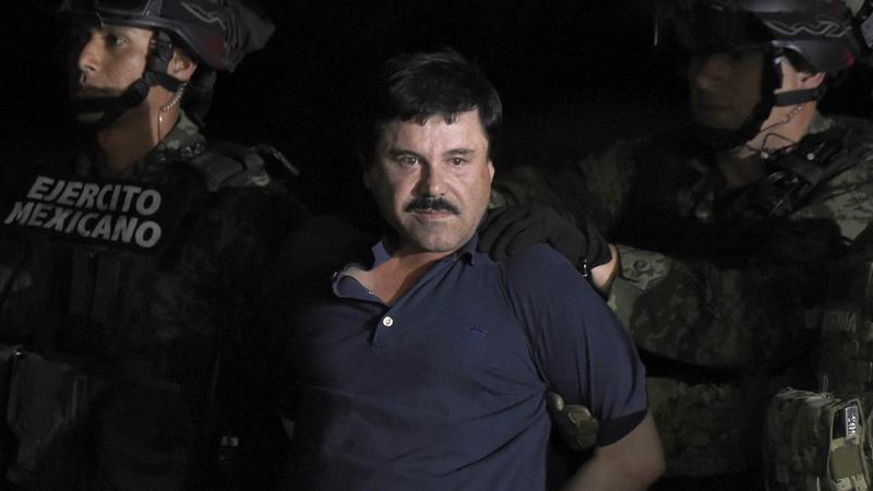 """Narcotráfico: """"El Chapo"""" condenado a prisão perpétua"""