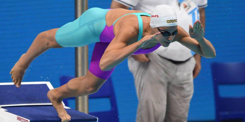 Nadadora Diana Durães sétima nos 800 livres, João Vital oitavo nos 400 estilos