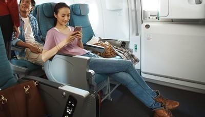 O top 10 dos serviços que os clientes querem nos aviões