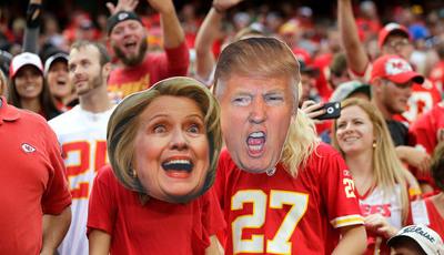 Onde, quando e como: Guia televisivo para o debate entre Hillary e Trump