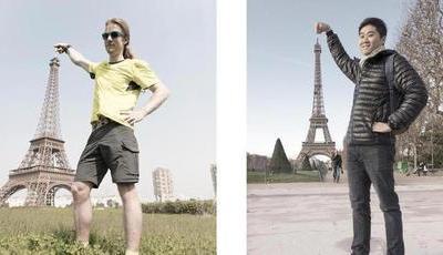 Consegue distinguir a verdadeira Paris da sua réplica chinesa?