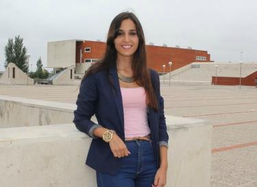 Patrícia Cruz, estudante de design da Universidade de Aveiro