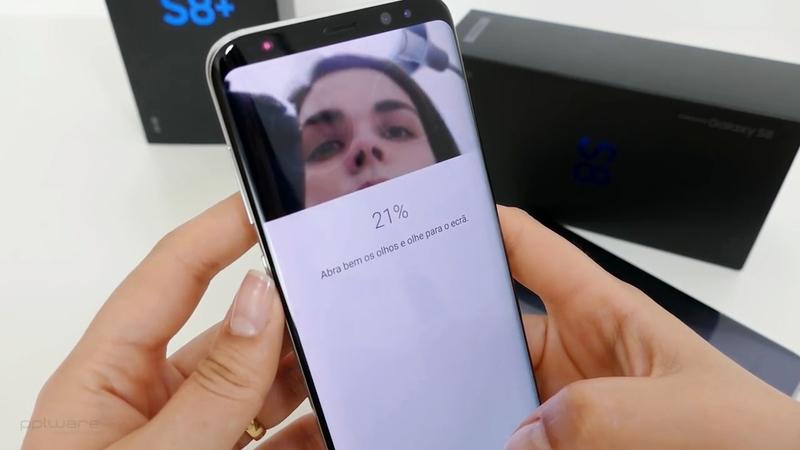 Desbloqueio por íris no Galaxy S8 pode ser ludibriado