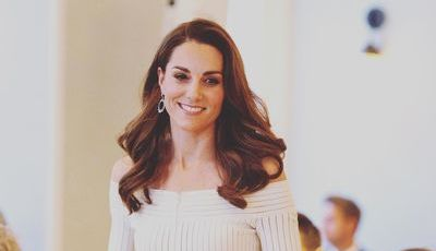 Kate Middleton aparece com o cabelo ainda mais claro (e nós adoramos)
