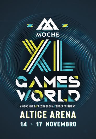 Ganhe bilhetes duplos para o Moche XL Games World
