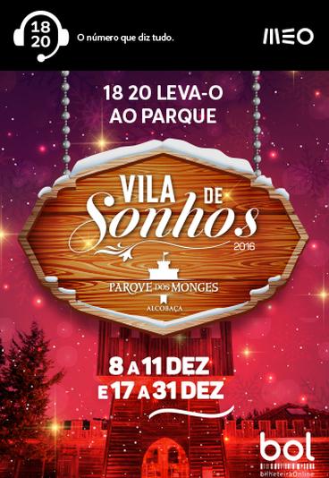 Vila de Sonhos: habilite-se a ganhar convites duplos com o 18 20