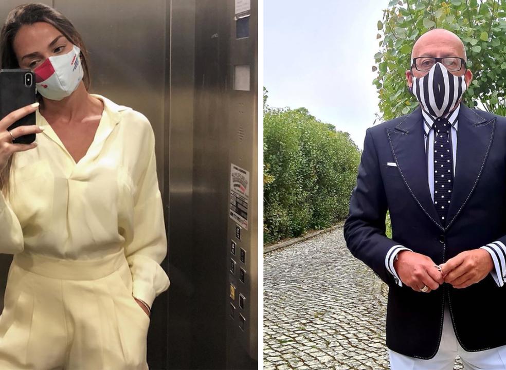 As máscaras mais cool usadas por 15 celebridades portuguesas