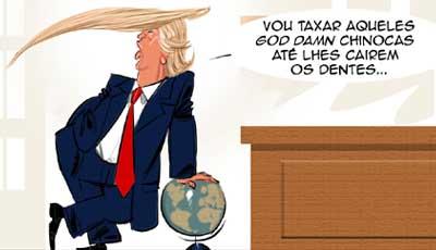 A mágoa de Trump