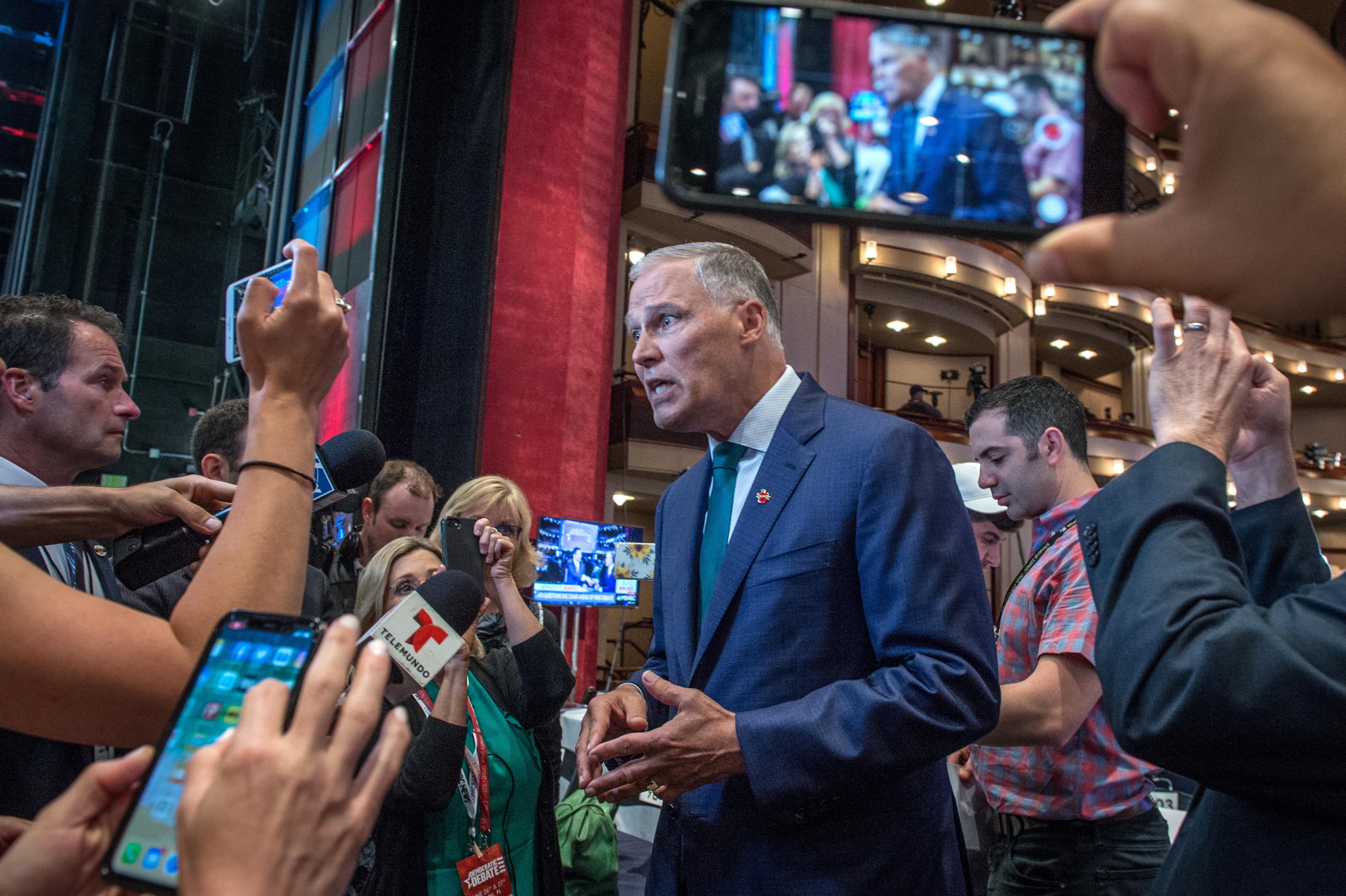 Jay Inslee, Governador de Washington, é o terceiro democrata a abandonar corrida presidencial nos EUA