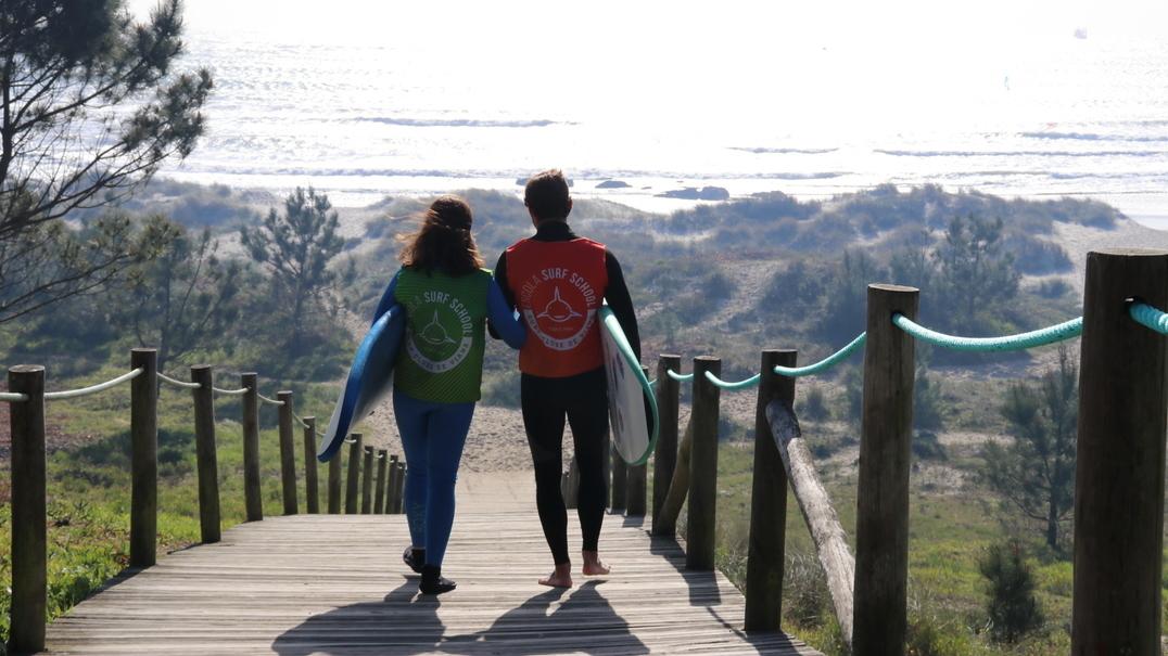 Marta Paço, a campeã de surf que nunca viu o mar