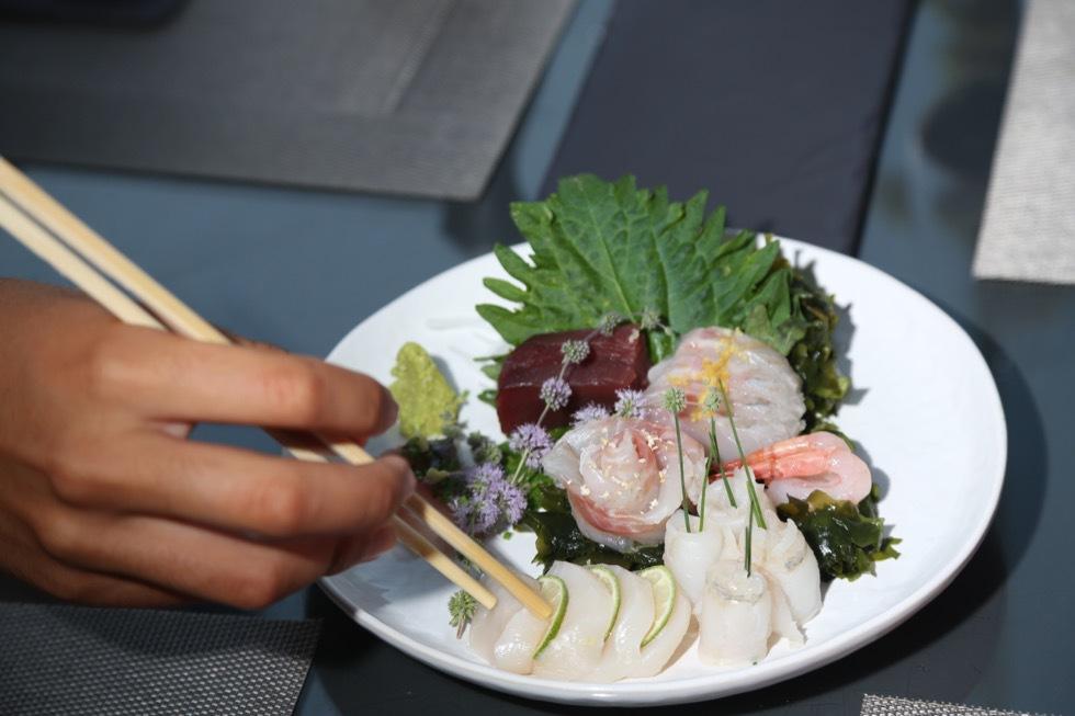 Restaurante Tago´s: Na margem sul comemos Japão, França e Portugal