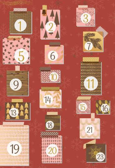 """""""Calendário de Advento Miranda"""": 23 presentes até ao Natal - e um super cabaz no dia 24!"""