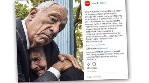 """A foto do abraço de Marcelo, agora na """"Time"""""""