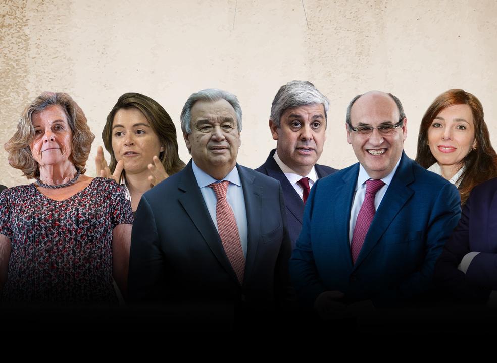 Centeno no FMI? De Guterres a Gaspar, portugueses brilham em cargos de topo internacionais