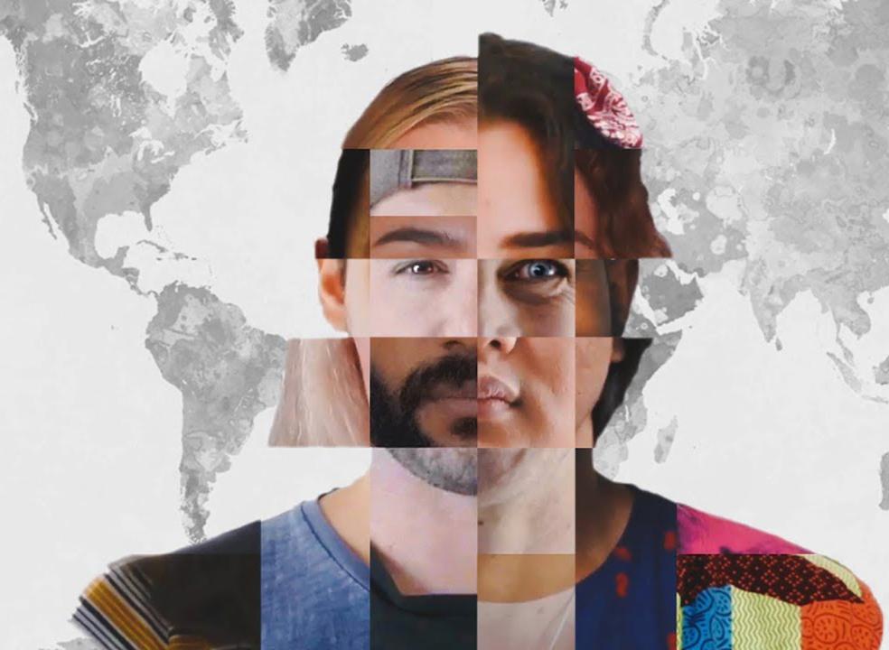 100 filmmakers de várias partes do mundo, juntos, num vídeo sobre todos nós