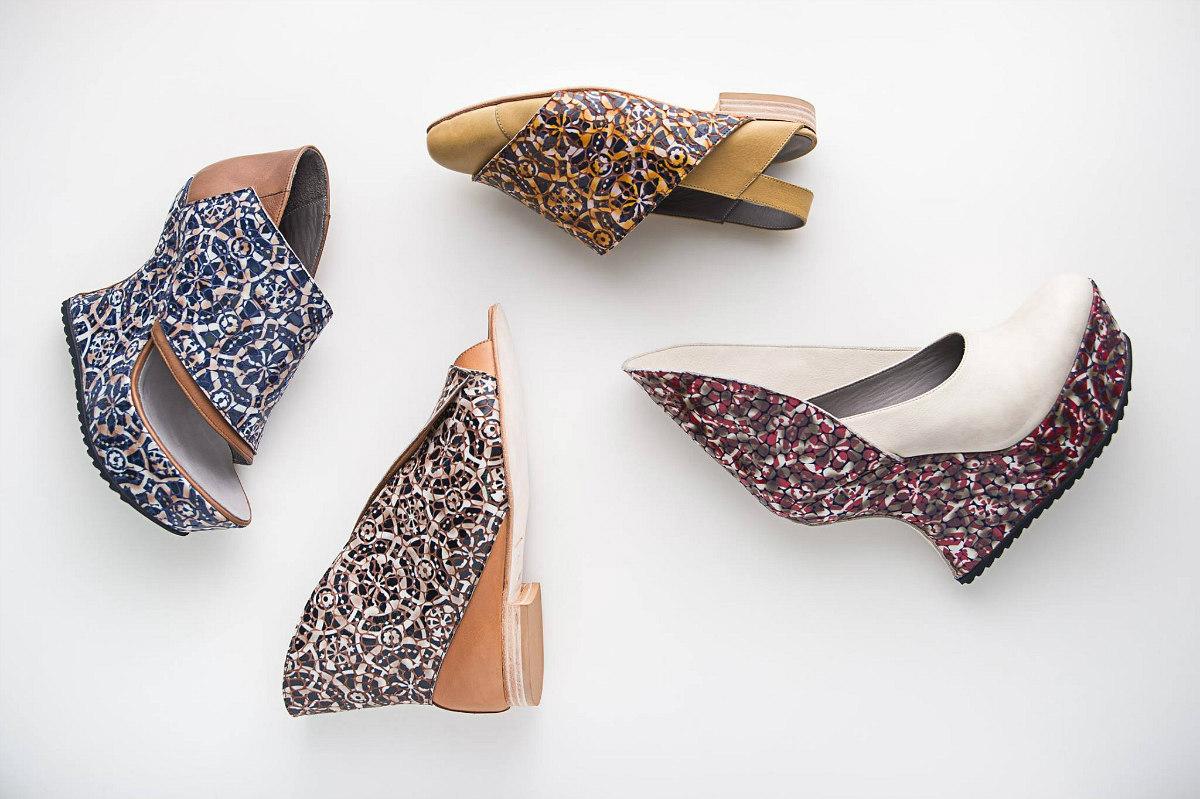 A designer portuguesa que trocou a escultura pela criação de sapatos vegan