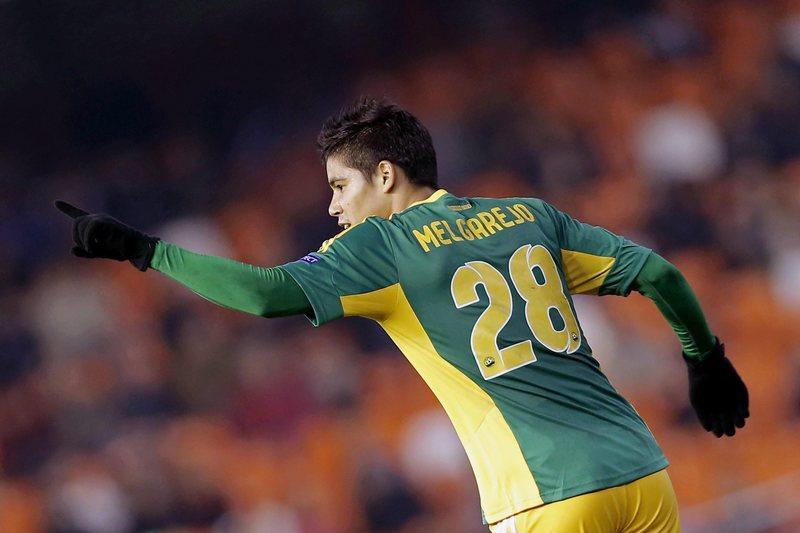 Melgarejo troca Krasnodar pelo Spartak de Moscovo