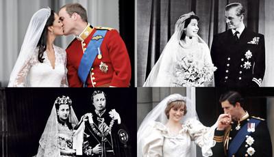 Dois séculos de casamentos reais em Inglaterra: da conveniência ao amor
