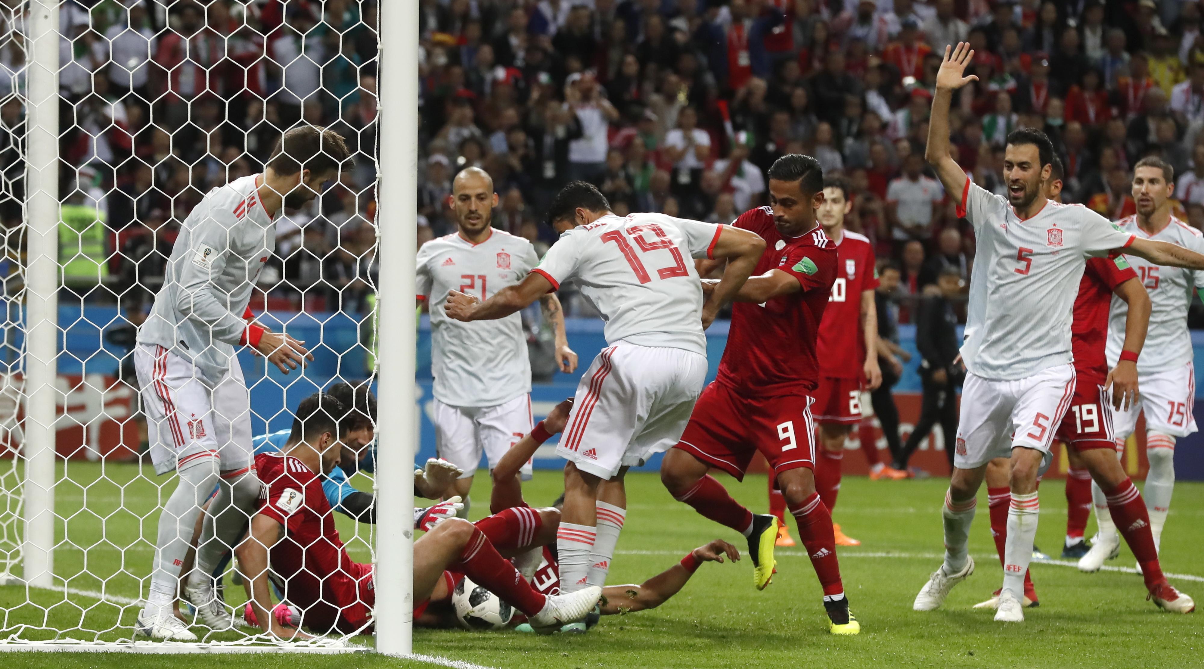 Os números do Irão-Espanha: Diego Costa marcou mas não foi o MVP