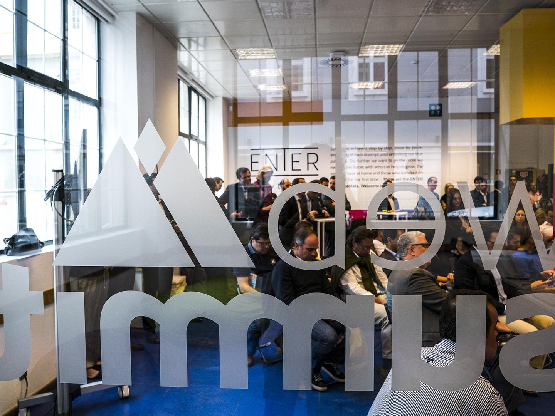 Enter: o novo espaço da PT para startups é também a primeira casa da Web Summit em Lisboa