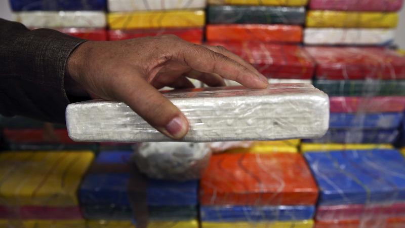 Cerca de 16 toneladas de cocaína apreendidas no porto norte-americano de Filadélfia