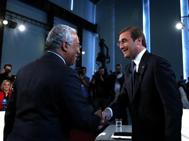 Pedro Passos Coelho e António Costa