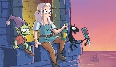"""Depois de """"Os Simpsons"""" e """"Futurama"""": já conhece """"Disenchantment"""", a nova série de Matt Groening?"""