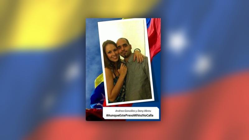 Amor a português levou Andrea à Venezuela. Acabou presa pelo regime